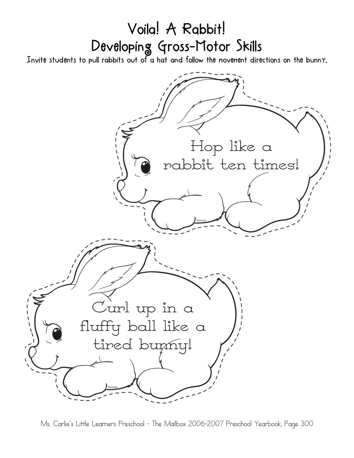 Ms. Carlie's Little Learners Preschool: {april: week two}