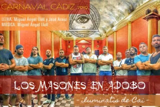 Los masones en adobo (iluminatis de Cai) (Chirigota). COAC 2019