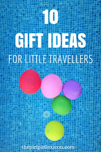 Gift ideas for little travelers (Christmas, birthday, etc)
