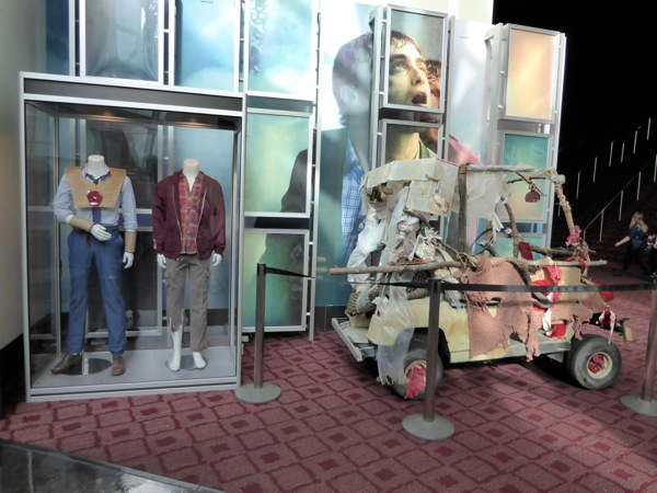 Swiss Army Man movie costumes car prop