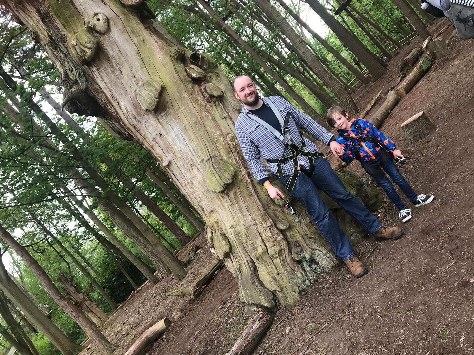 Our Tree Top Adventure At The New Go Ape Coombe Abbey Review To Become Mum