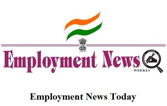 Employment News : 29-September To 5-October -2018