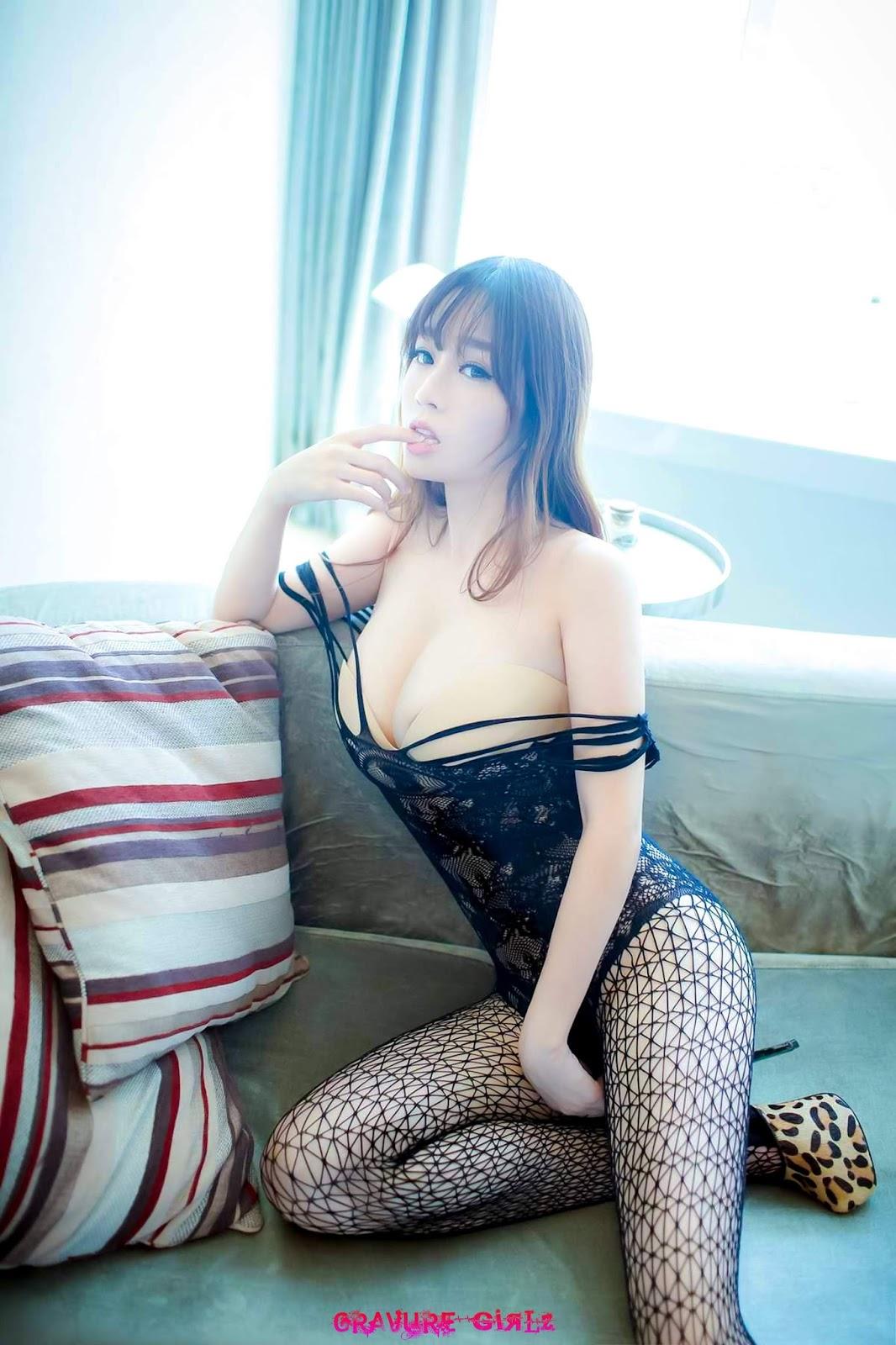 Wang Yu Chun  Huge Boobs Chinese Girl Nude Gallery -6581