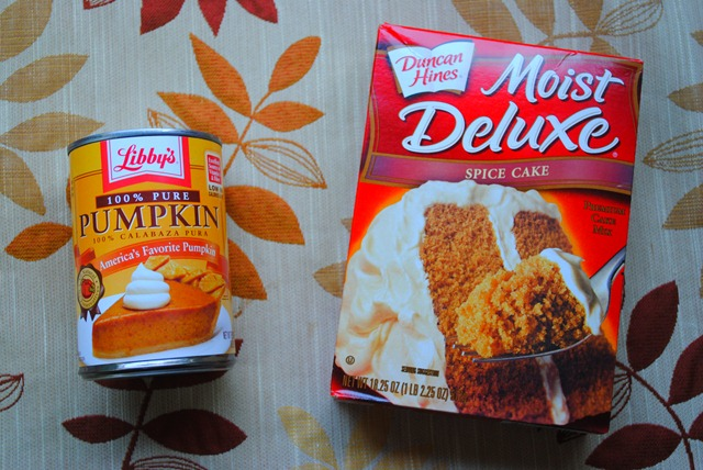 Cake Mix And Canned Pumpkin Cookies