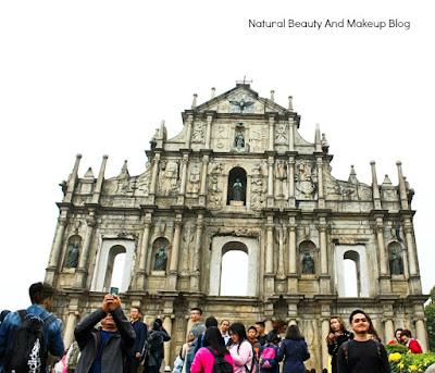 An impressive feat of architecture is Ruins of St. Paul's. UNESCO world heritage site and a part of Historic Centre of Macao
