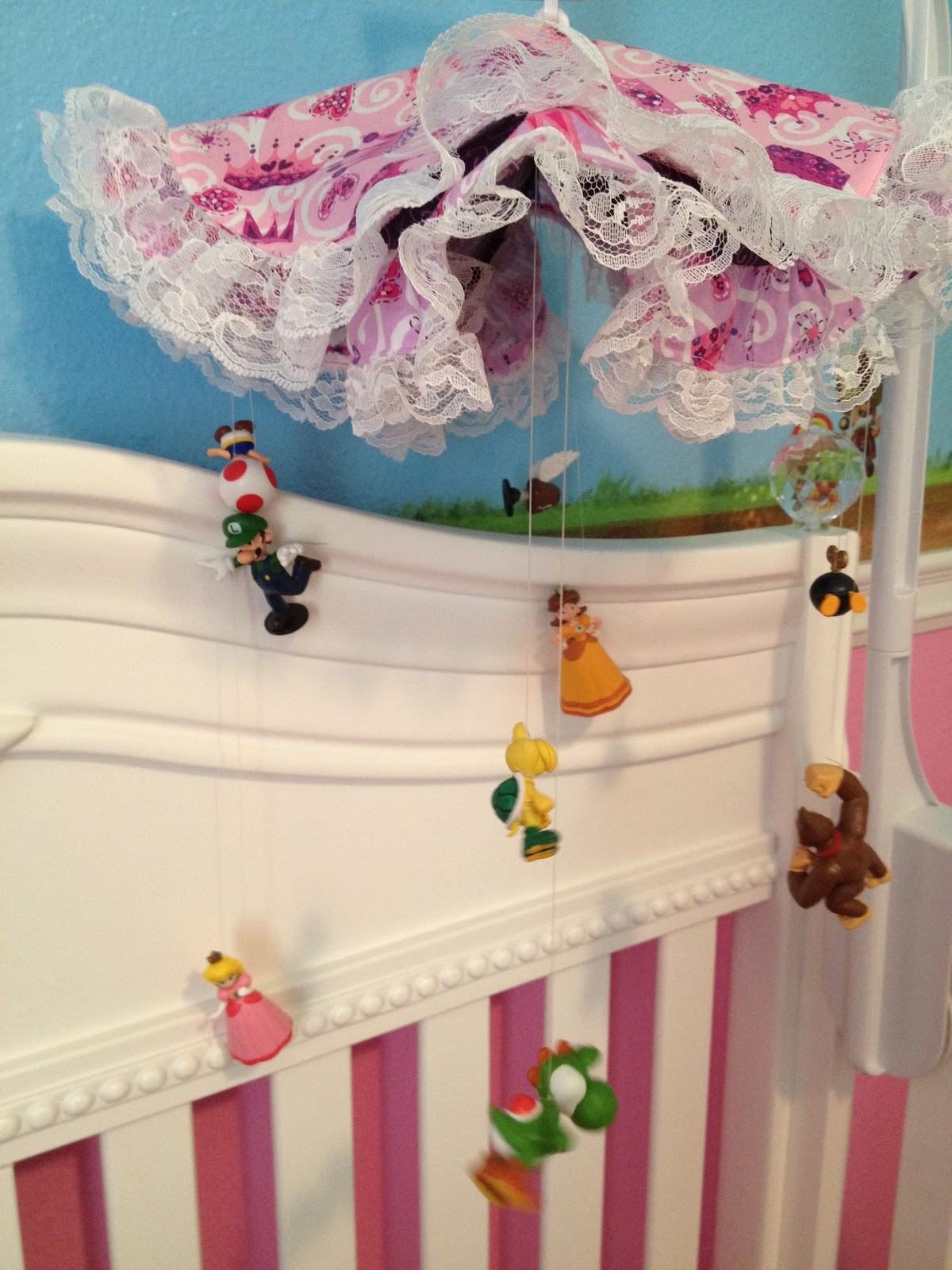 Super Mario Princess Peach Nursery