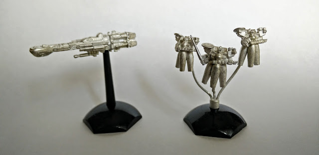 Jovian Chronicles Fleet Scale Hector and Thunderbolt
