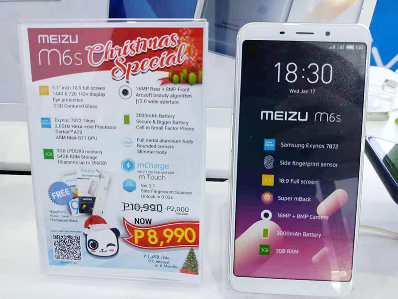 Sale Alert: Meizu M6s with Exynos 7872 chip is now priced at just PHP 8,990!