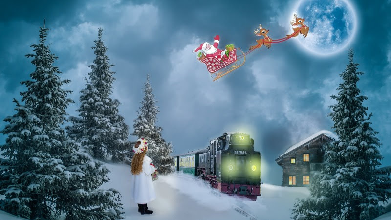 Santa Claus is coming to town HD