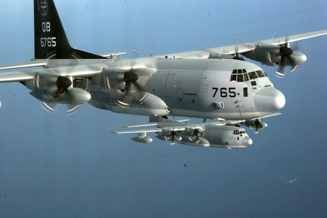 Marine Corps C-130J loss pressurization