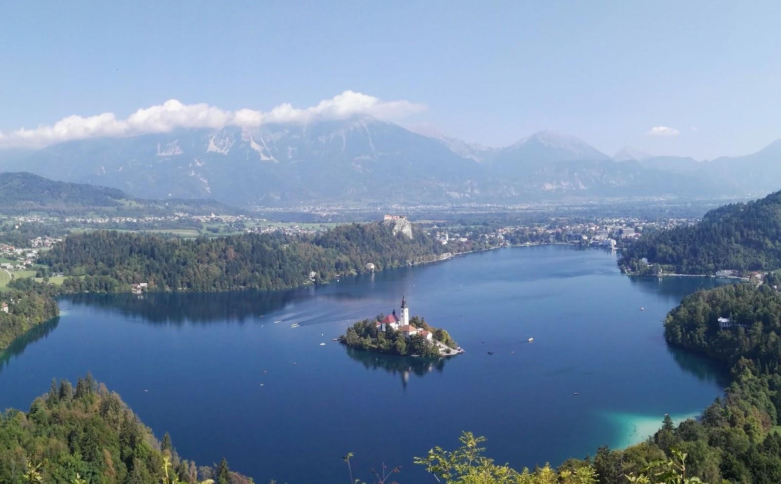sejour slovenie lac bled