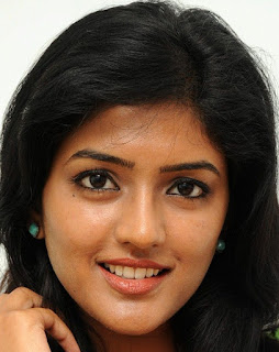Beautiful Telugu Girl Eesha Rebba Smiling Face Close Up Stills (4)