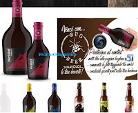 Logo Bug Beer a Carnevale di premia con un Box regalo composto da 6 prodotti