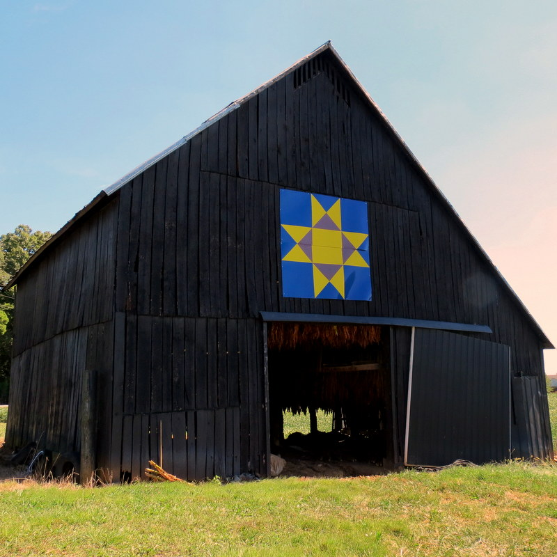 Patchwork Reflections: Kentucky Barns