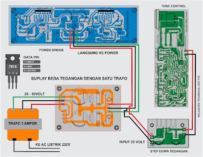 Cara Mengatasi Kebutuhan Beda Tegangan Pada Rangkaian Audio