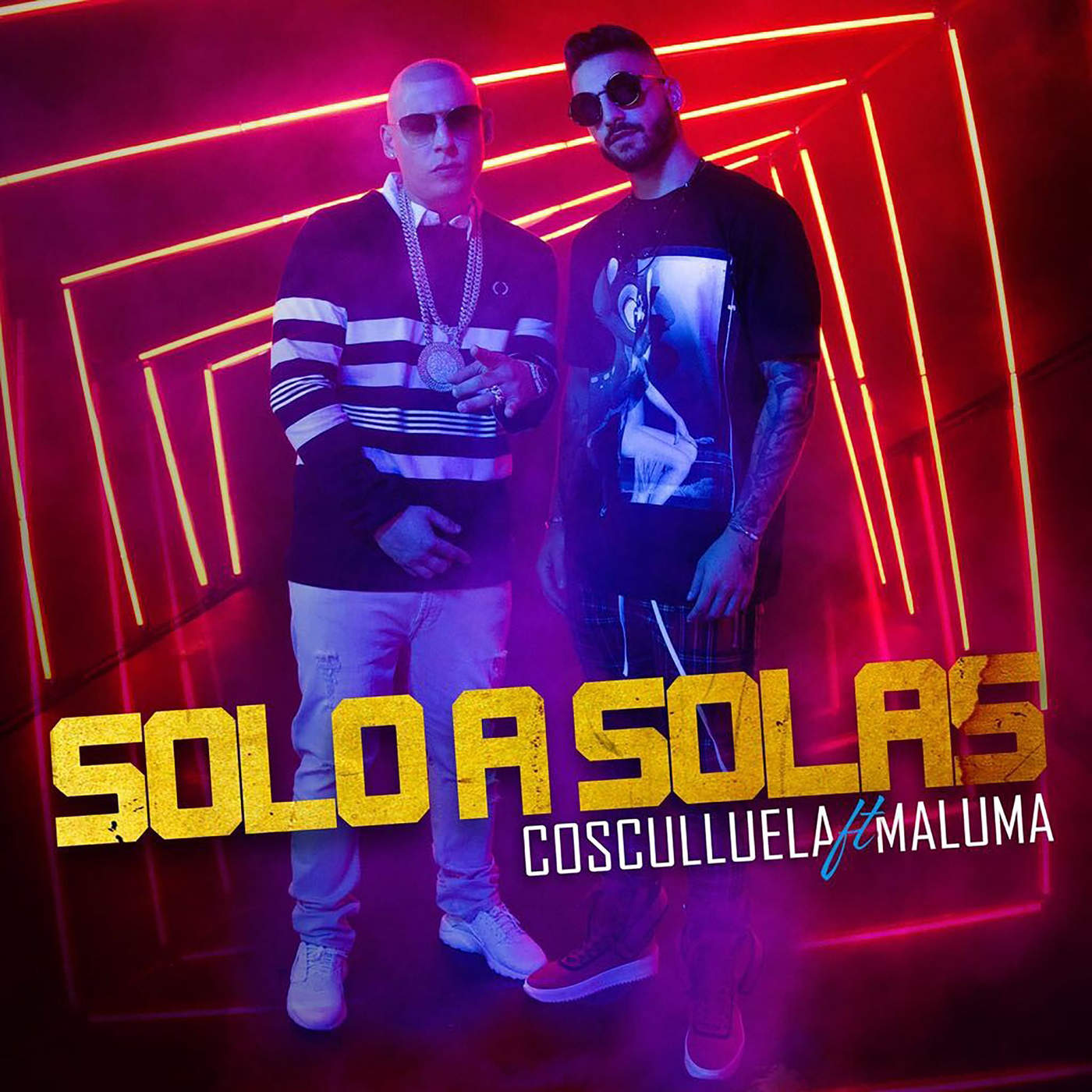 Cosculluela - Solo a Solas (feat. Maluma) - Single