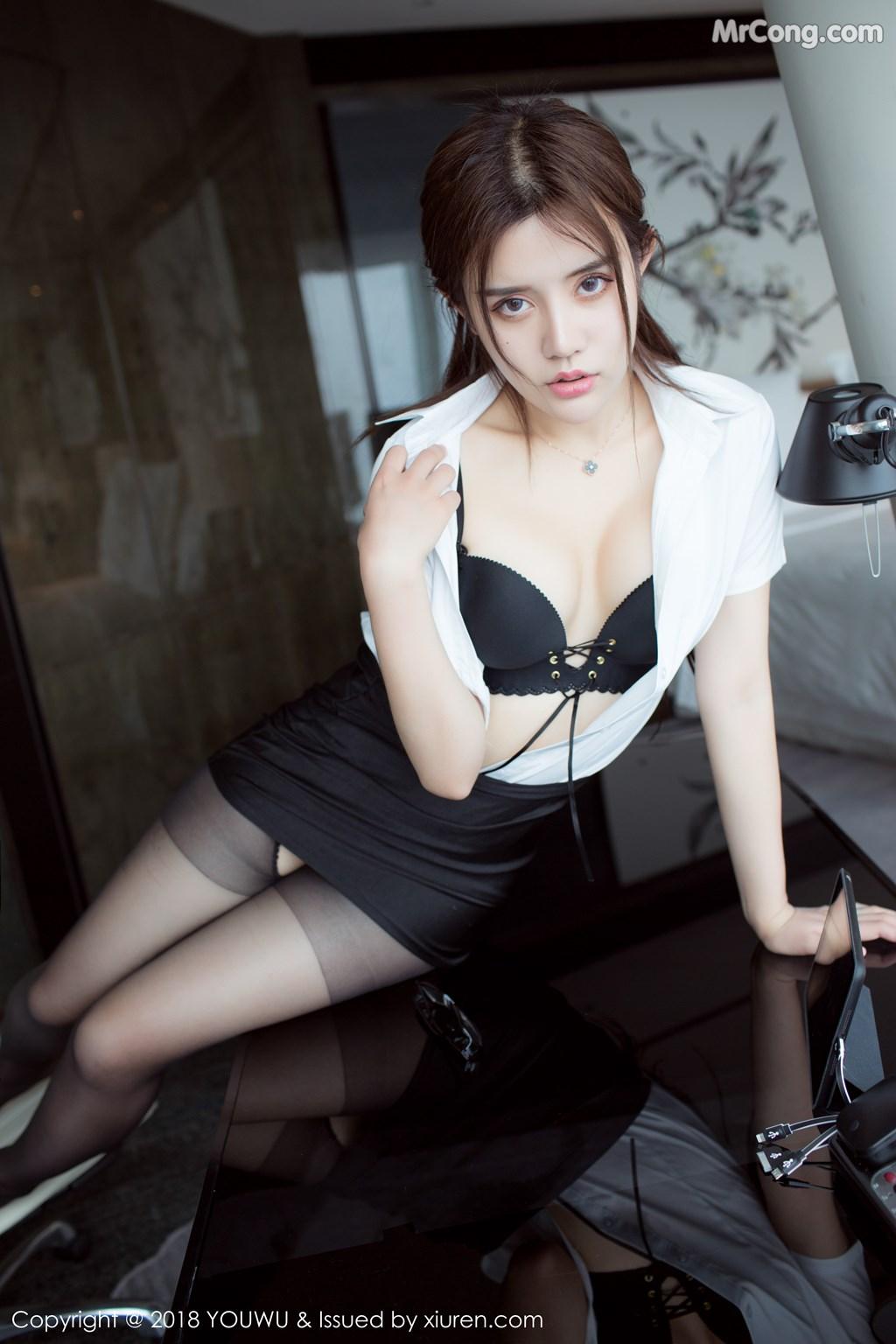 Image YouWu-Vol.081-Nina-MrCong.com-003 in post YouWu Vol.081: Người mẫu 兔子Nina (43 ảnh)