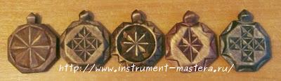 деревянные медальоны