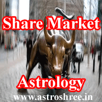 Share market astrology, houses responsible to bring profit in share market, stock market and jyotish.