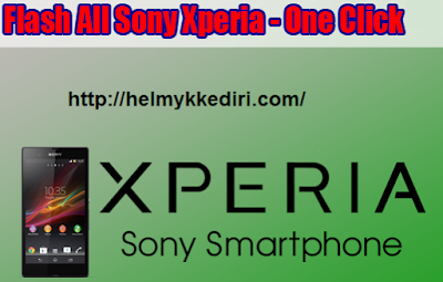 Cara Flash Sony Xperia All Type