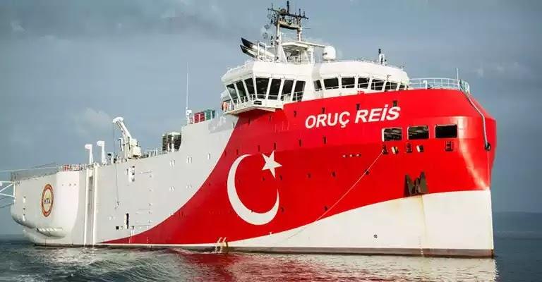 Τσαβούσογλου: «Το Oruc Reis απέπλευσε μαζί με τα πολεμικά μας πλοία» - Κατευθύνονται προς την ελληνική υφαλοκρηπίδα