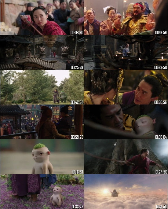 Monster Hunt 2 (2018) BRRip 720p 480p Dual Audio Hindi English Full Movie Download