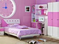 Desain Kamar Tidur Khusus Untuk Anak Perempuan