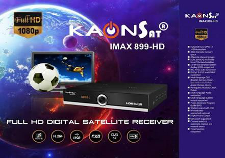 Cara Upgrade Firmware Receiver Kaonsat Imax 899 HD Terbaru