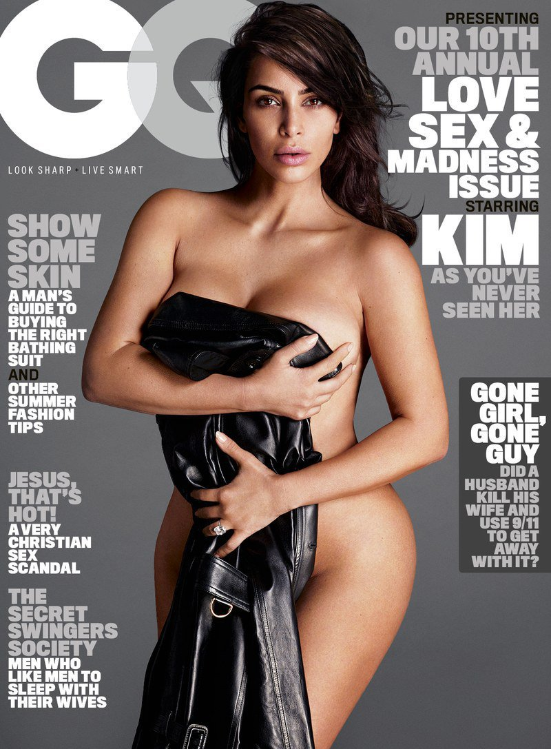 Kim Kardashian West on Her First GQ Cover