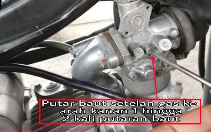 Cara Setel Karburator Sepeda Motor Yang Benar Dan Irit Bensin