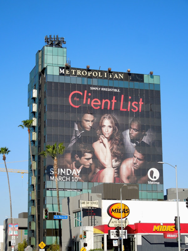 Client List season 2 giant billboard