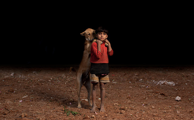Orphaned Children Had No One to Turn To Until Stray Dogs Took Care of Them