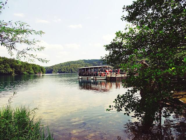 Przejazd łódką - Plitvickie