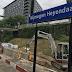 Extra trappen op station Nijmegen Heyendaal