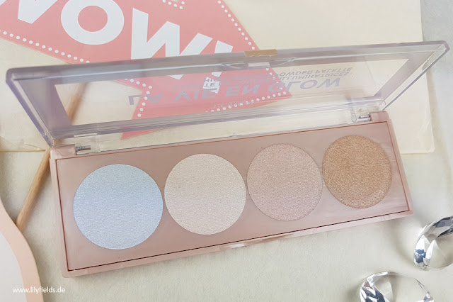 La Vie En Glow - Highlighting Powder Palette - 02 Cool Glow