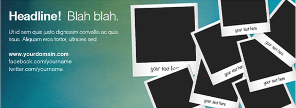 Facebook Cover Photo Template Psd