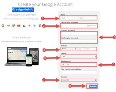 Gmail account kaise banate hai