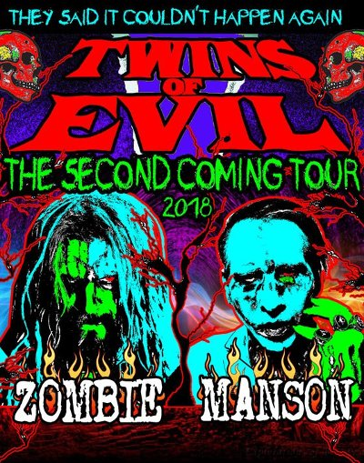 Marilyn Manson And Rob Zombie Have Announced A Co-Headline Tour