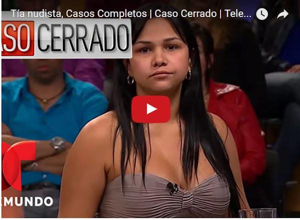 Venezolana demandada por mantener una relación con su sobrino menor de edad