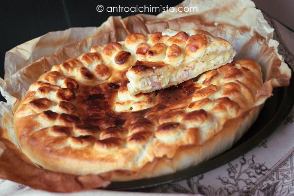 Pizza Rustica al Bacon e Formaggio