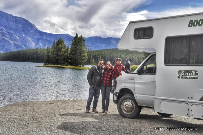 Viajando de motorhome pelo Canadá