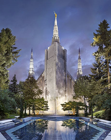 Lds Temples Painted In A New Unique Way