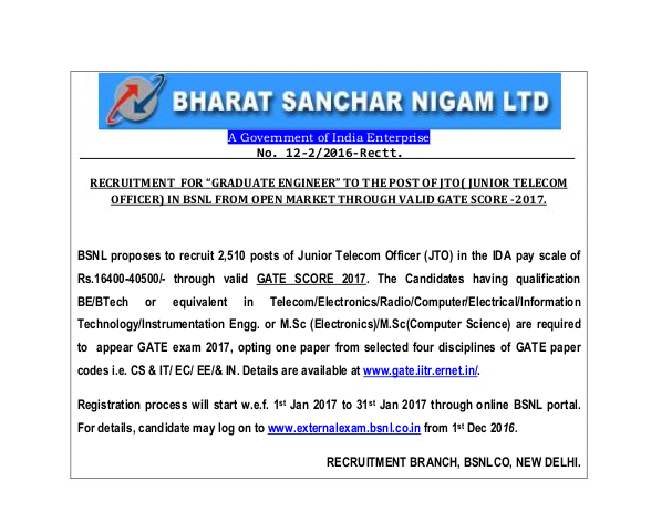 bsnl-jobs-for-gate-students-2017