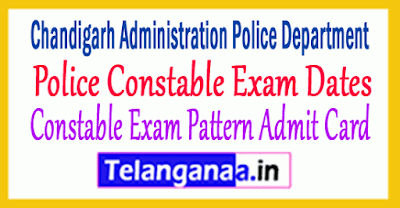 Chandigarh Police Constable Exam Pattern Admit Card