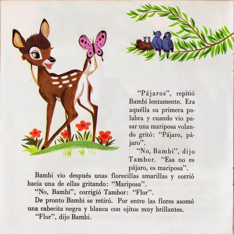 Cuentos infantiles: Bambi. Walt Disney. Cuentos infantiles.