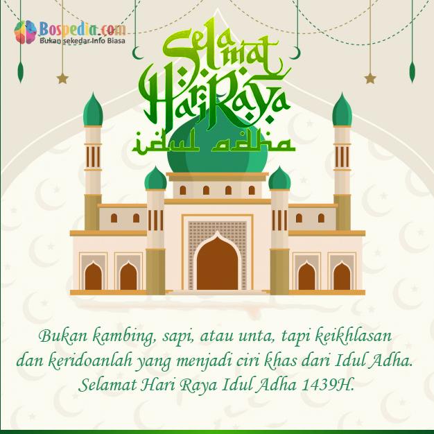 Kartu Ucapan Selamat Idul Fitri 1440