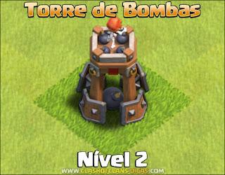 Nova Defesa: Torre de Bombas Nível 2