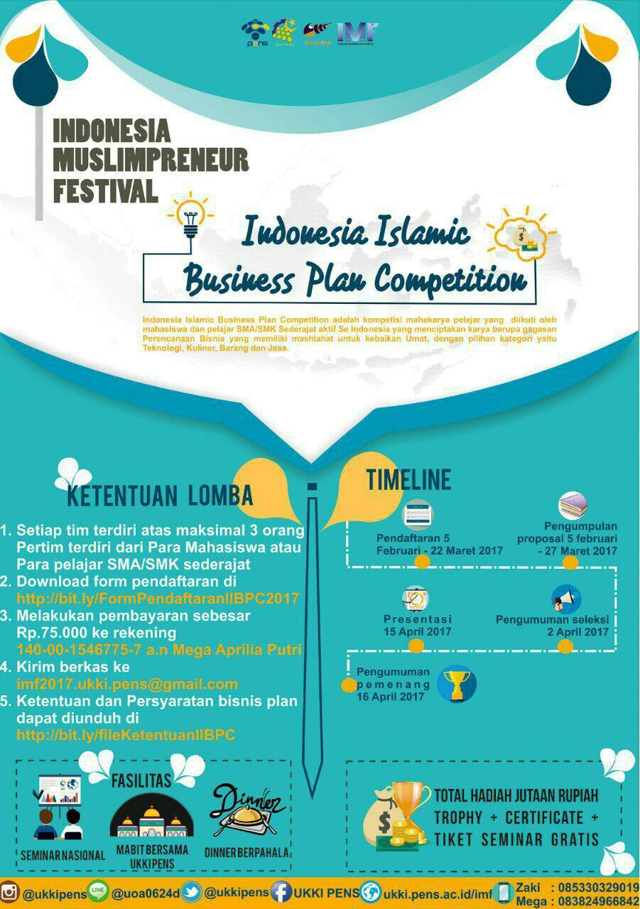 Indonesia Islamic Business Plan Competition (IIBPC) 2017