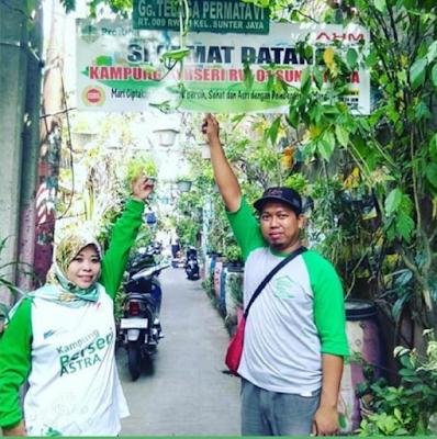 Kampung Berseri Astra Produktif Sunter Jaya