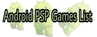 PSP ROMs For Android